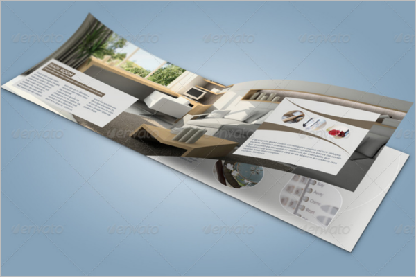 A5 Catalogue Brochure Mockup