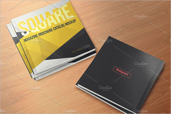 Brochure Catalog Mockup Template