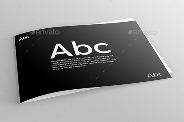 Catalogue Mockup Design