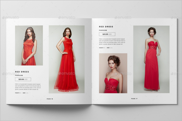 Fashion Catalogue Mockup