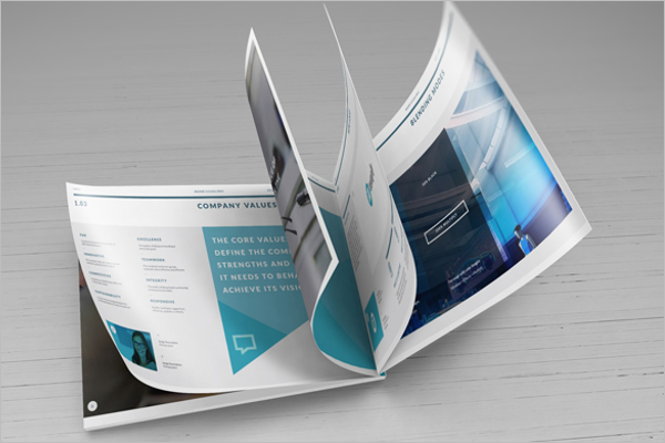 Free Catalogue Mockup Design