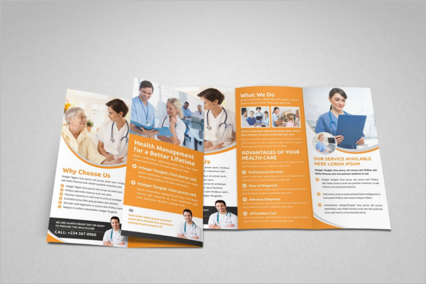 Health Brochure Template