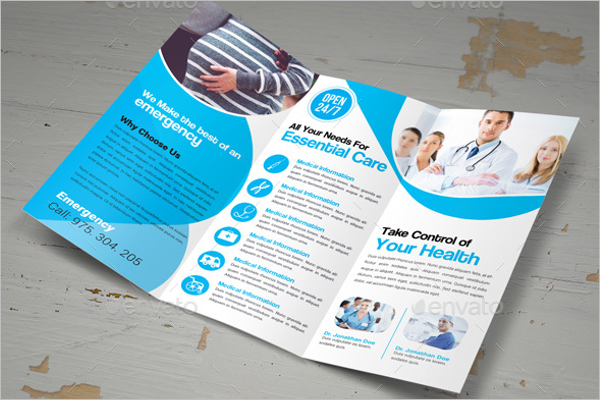 Medical Brochure Photoshop