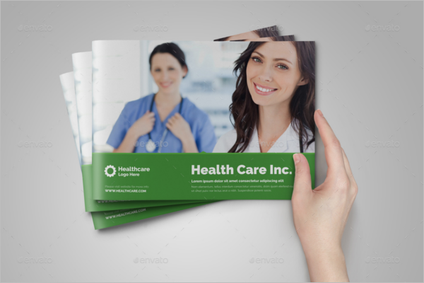 Medical Brochure Vector