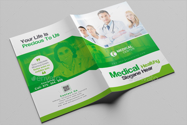 Medical Center Brochure Template