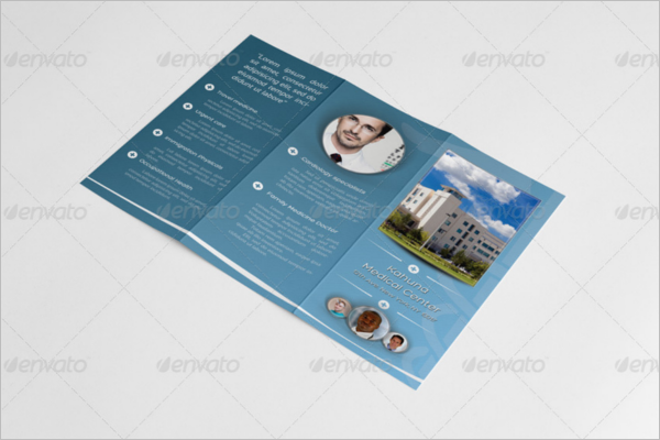 Medical Equipment Brochure Template