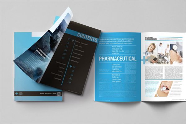 Medical Supplies Brochure Template