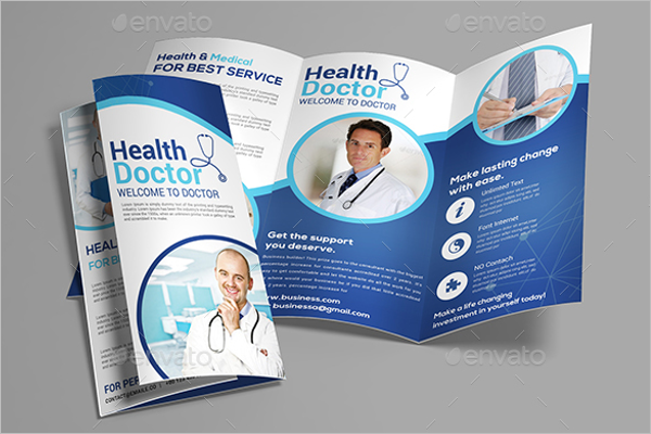 Trifold Medical Brochure Design