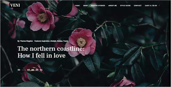 Vintage E-commerce WordPress Theme