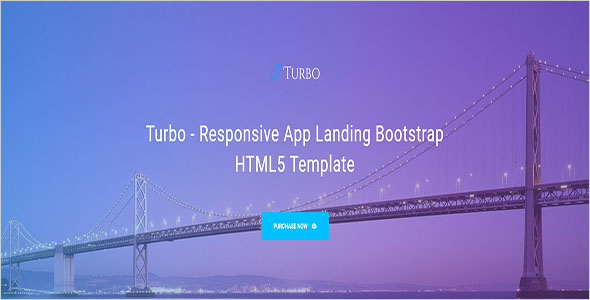 Web App Landing Page Template