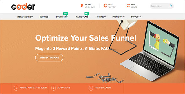 Trendy E-commerce Joomla Template