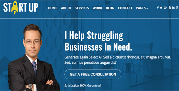 Business Corporate Website