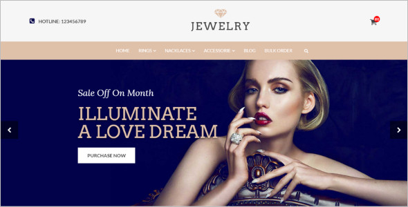 New Jewelry Shop Themes
